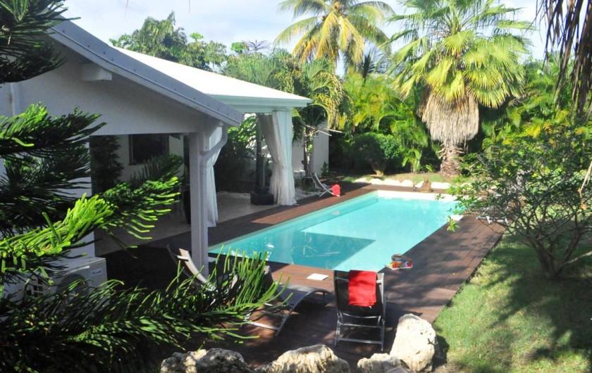Location de vacances - Villa à Saint-François - La piscine