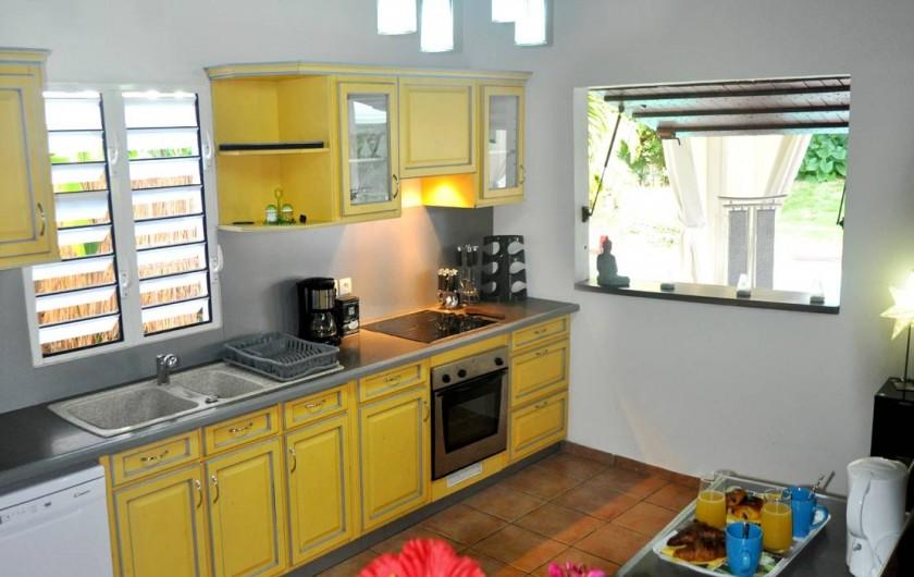 Location de vacances - Villa à Saint-François - La cuisine équipée