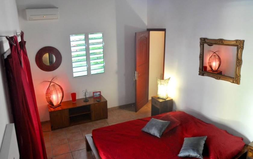 Location de vacances - Villa à Saint-François - La troisième chambre en teck
