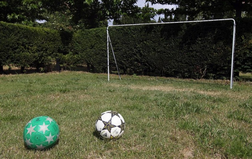 Location de vacances - Gîte à Llampaies - Zone sportive: Cage de foot pour enfants