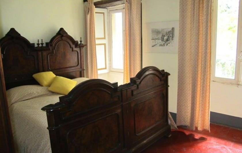Location de vacances - Villa à Isola San Giulio - Chambre jaune
