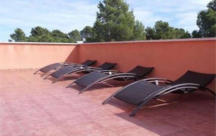 Location de vacances - Villa à L'Ametlla de Mar - Terrasse non couverte