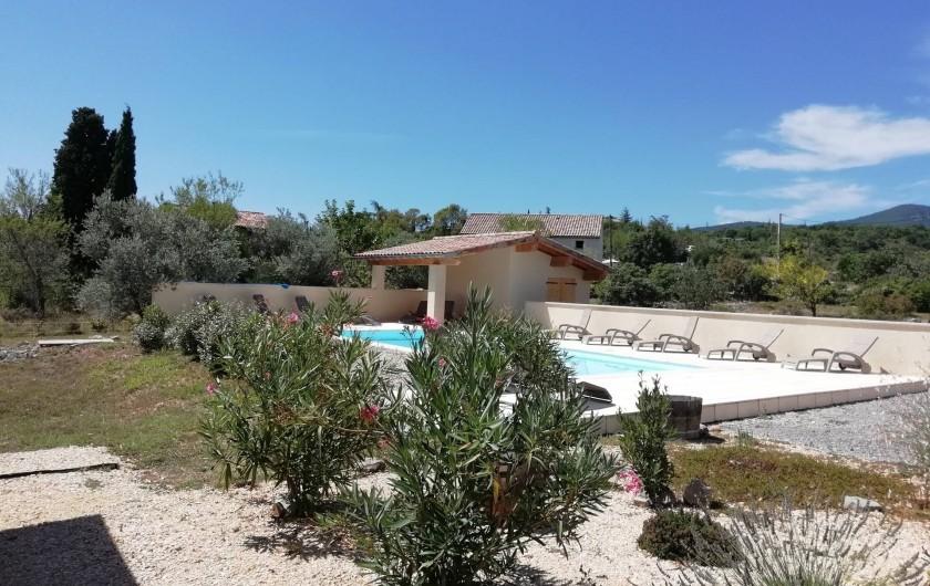 Location de vacances - Villa à Les Vans - La Piscine