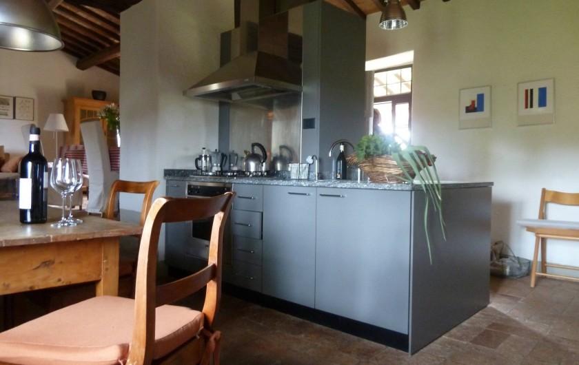 Location de vacances - Appartement à Greve in Chianti - Cuisine vers le salon