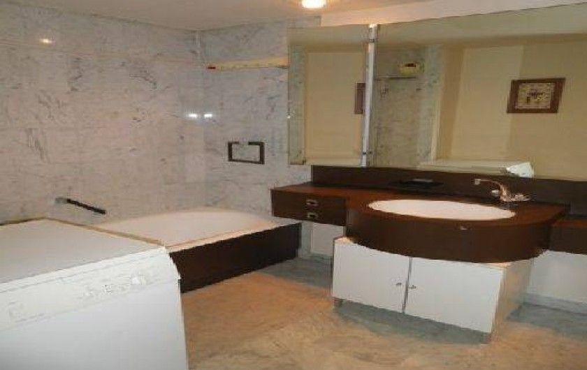 Location de vacances - Appartement à Cannes - Cannes beach- Salle de Bains