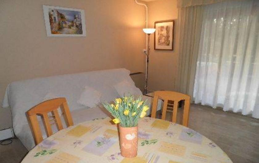 Location de vacances - Appartement à Cannes - Cannes beach- Salon