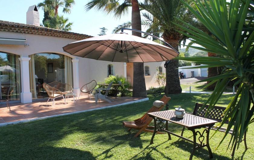 Location de vacances - Villa à Saint-Tropez - Jardin