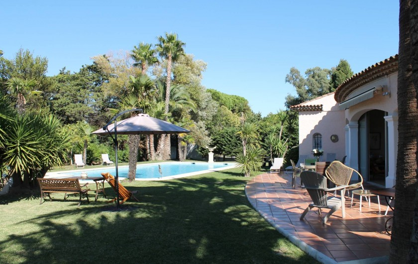 Location de vacances - Villa à Saint-Tropez - Une chambre