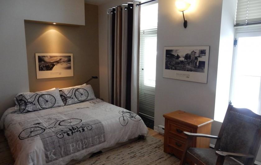 Location de vacances - Chambre d'hôtes à Ville de Québec - Une de nos chambres à notre B&B de Québec