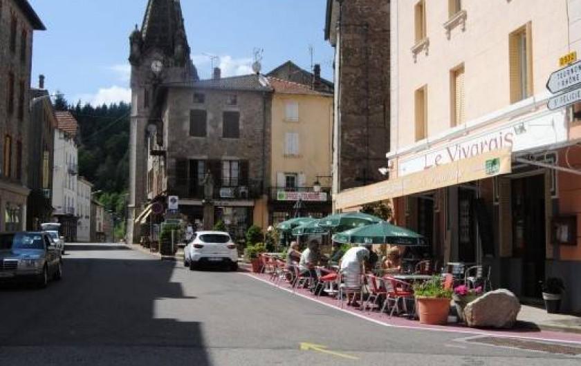 Location de vacances - Hôtel - Auberge à Lalouvesc