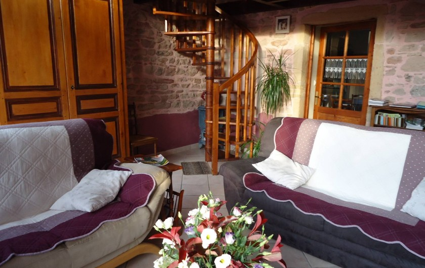 Location de vacances - Gîte à Juliénas - PIECE A VIVRE