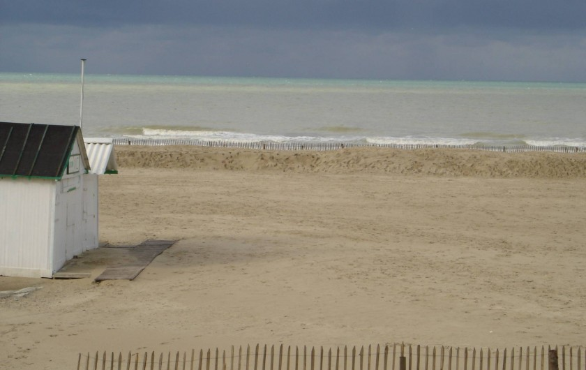 Location de vacances - Studio à Le Touquet-Paris-Plage - la plage