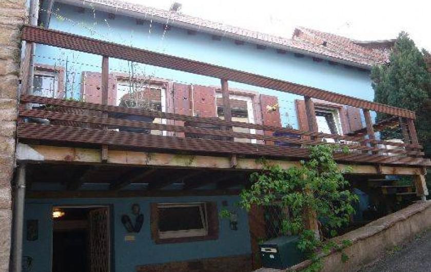 Location de vacances - Gîte à Ottrott - Terrasse