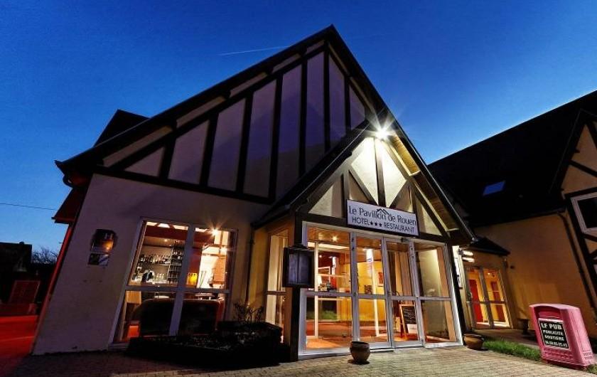 Location de vacances - Hôtel - Auberge à Franqueville-Saint-Pierre - ENTREE DE L'HOTEL