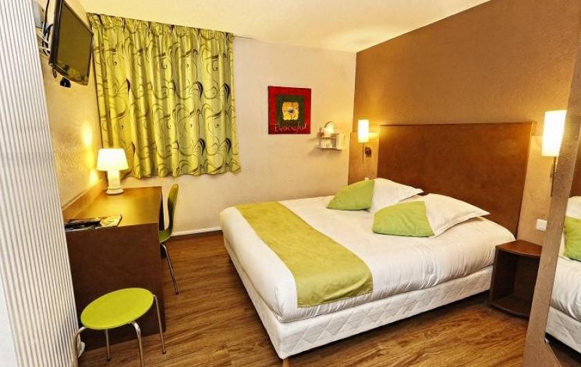 Location de vacances - Hôtel - Auberge à Franqueville-Saint-Pierre - CHAMBRE DOUBLE