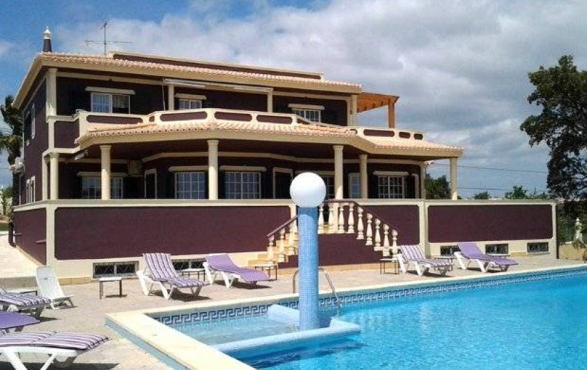 Location de vacances - Appartement à Armação de Pêra - Villa Solar Da Praia côté piscinee
