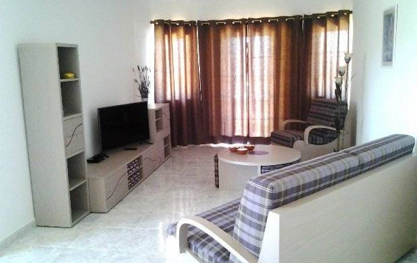 Location de vacances - Appartement à Armação de Pêra - Salon/TV