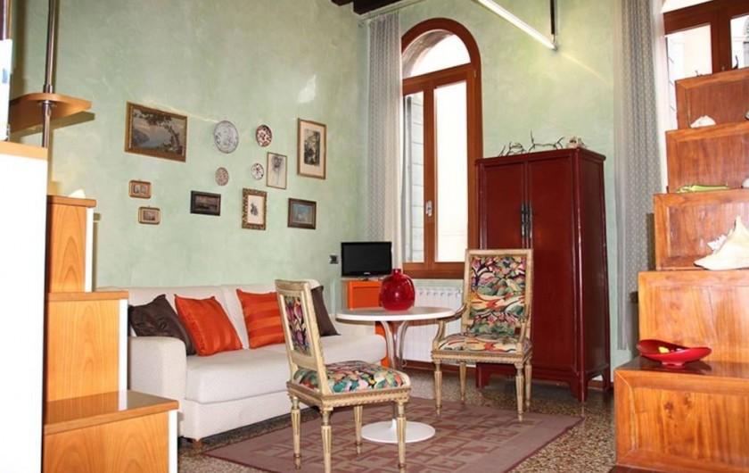 Location de vacances - Appartement à Venise - Séjour