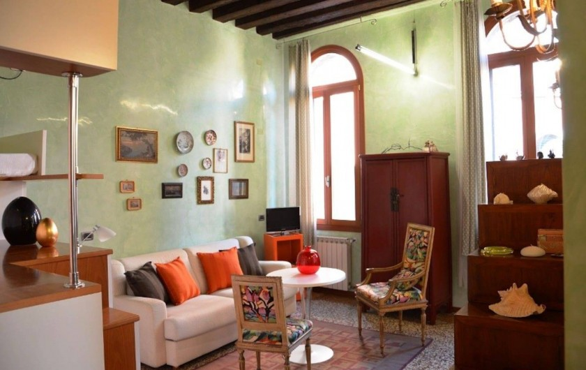 Location de vacances - Appartement à Venise - Sèjour