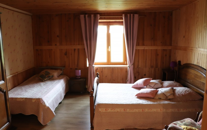 Location de vacances - Gîte à Fournets-Luisans - Chambre 3