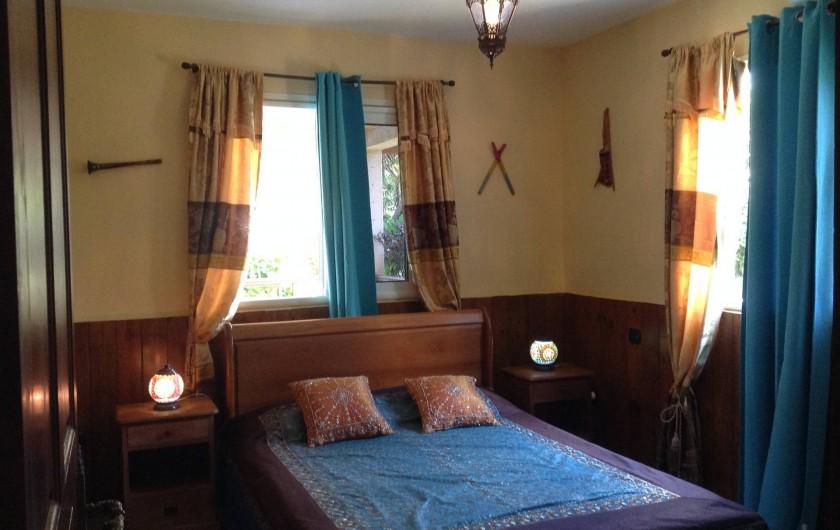 Location de vacances - Villa à Saint-Pierre - Chambre 5 : indienne, ventilée