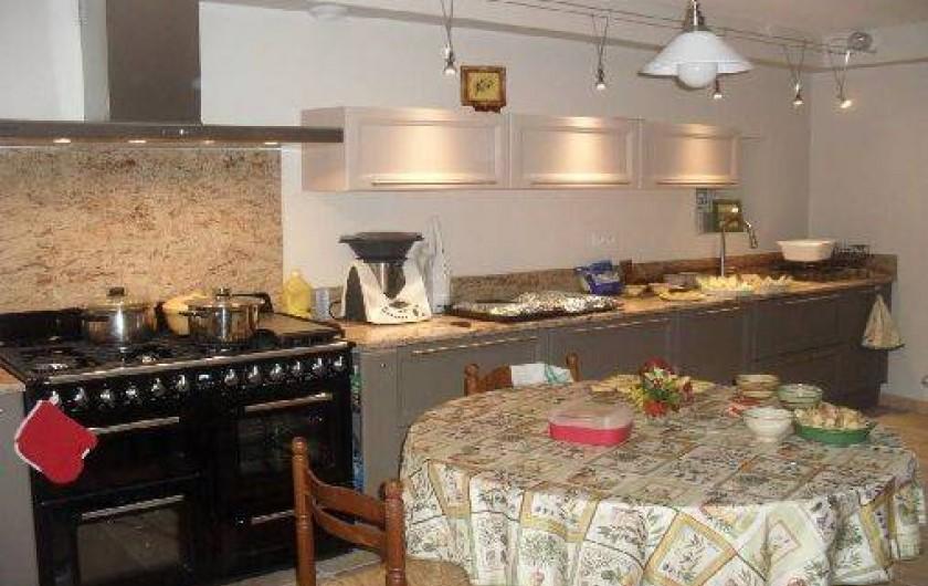 Location de vacances - Maison - Villa à Richerenches - cuisine