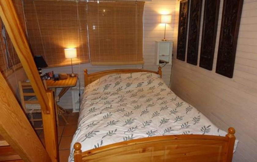 Location de vacances - Villa à Le Cap Ferret - Chambre 1  parent avec lit de 140