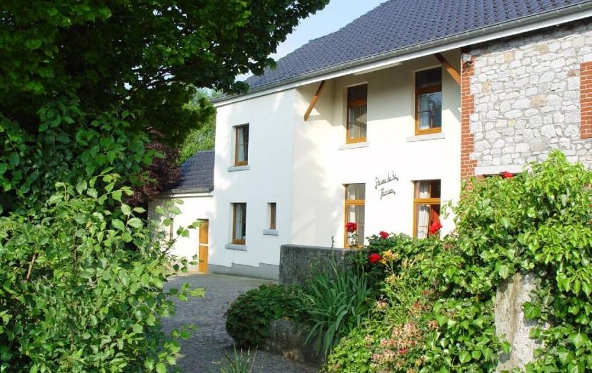 Location de vacances - Gîte à Lontzen - Vue du gîte
