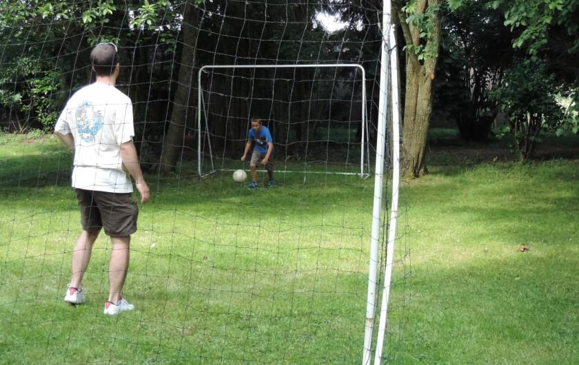 Location de vacances - Gîte à Lontzen - Une autre partie du jardin pour la pratique du foot