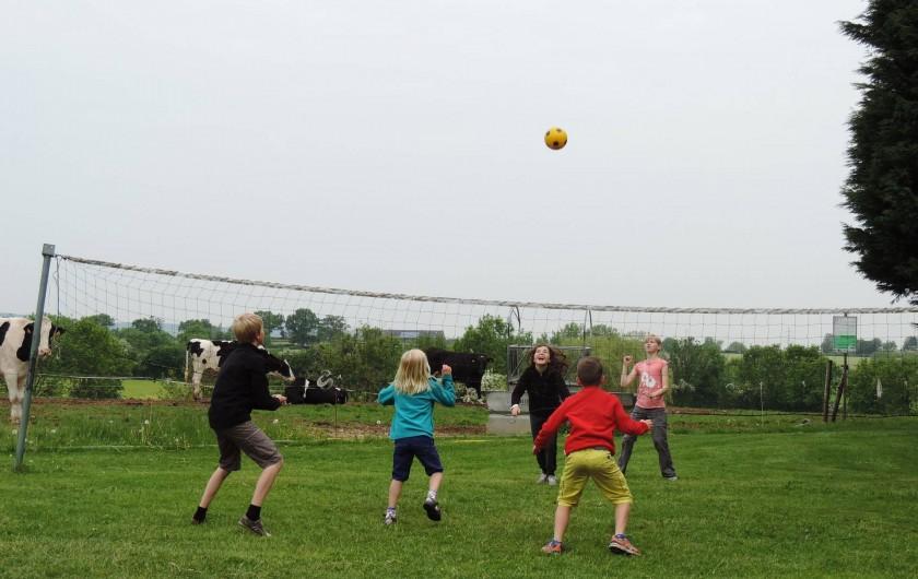 Location de vacances - Gîte à Lontzen - Le terrain de volley