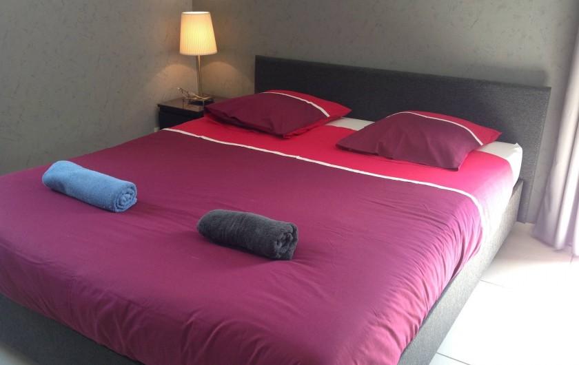 Location de vacances - Villa à Malmedy - Chambre à coucher