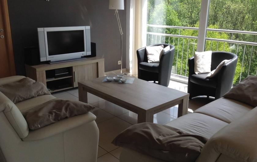 "Location de vacances - Villa à Malmedy - Living ""Belle-vue"""