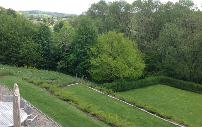 Location de vacances - Villa à Malmedy - Jardin