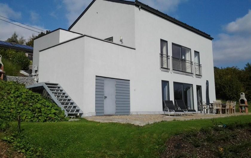 """Location de vacances - Villa à Malmedy - Terrase du """"Beau-site"""""""