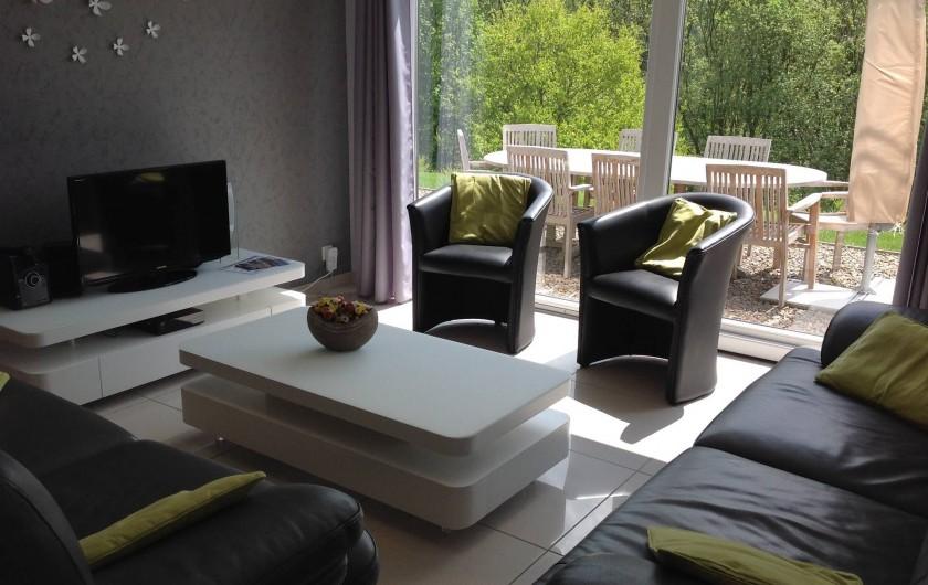 "Location de vacances - Villa à Malmedy - Living ""Beau-site"""
