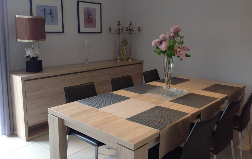 """Location de vacances - Villa à Malmedy - Salle a Manger du """"Beau-site"""""""