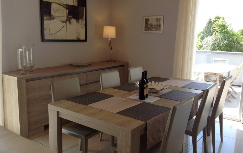 """Location de vacances - Villa à Malmedy - Salle a Manger """"Belle-vue"""""""