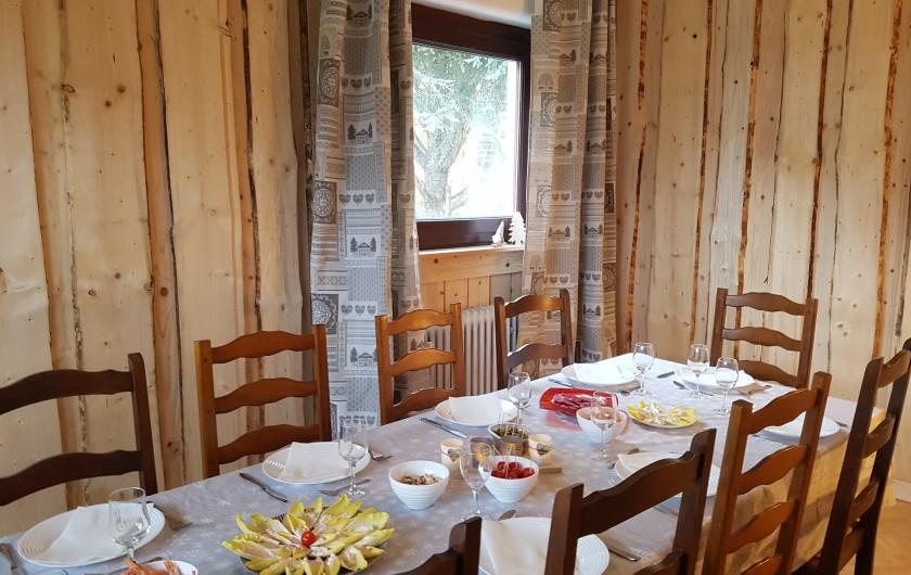 Location de vacances - Villa à La Bresse - Salle à manger