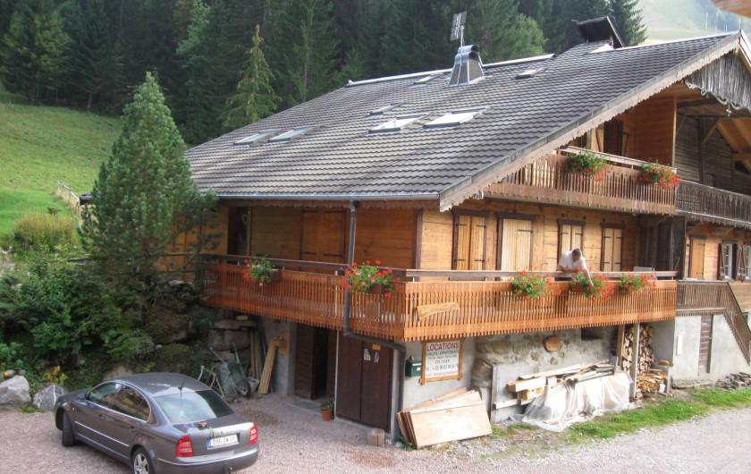 Location de vacances - Chalet à Châtel - Le clos du LInga