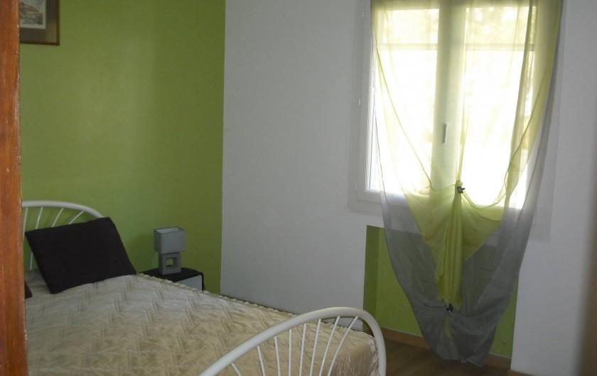 Location de vacances - Appartement à San-Giuliano - Chambre 4 (idem chambre 3 avec possibilité couchage d'appoint)
