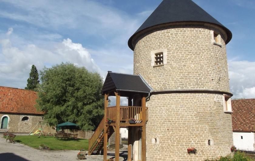 Location de vacances - Insolite à Baincthun - Le gîte et le jardin