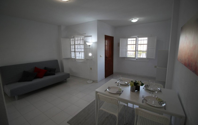Location de vacances - Appartement à Torrevieja - Salle à manger
