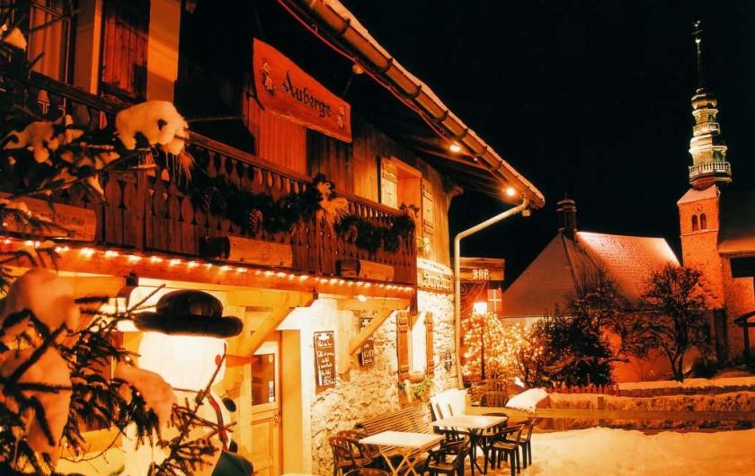 Location de vacances - Hôtel - Auberge à Combloux