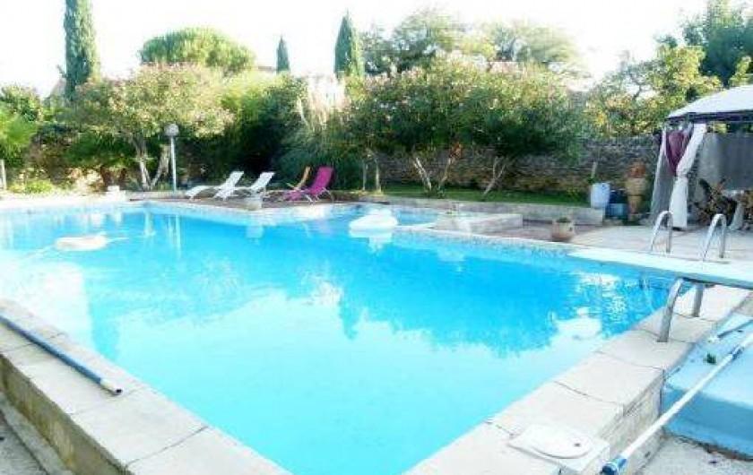 Location de vacances - Gîte à Bouchet - PISCINE 12X5.5