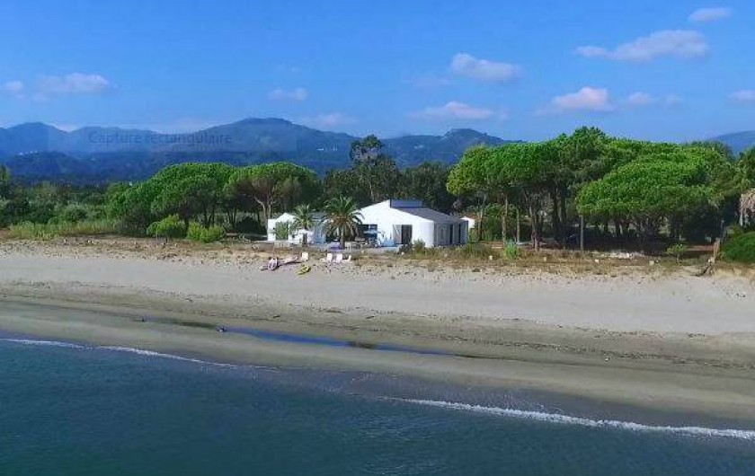 Location de vacances - Villa à Taglio-Isolaccio - Villa vue mer