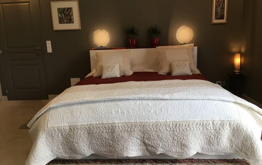 Location de vacances - Chambre d'hôtes à Grimault - La Grimaldienne 48 m2  125 euros/nuit/2pers.