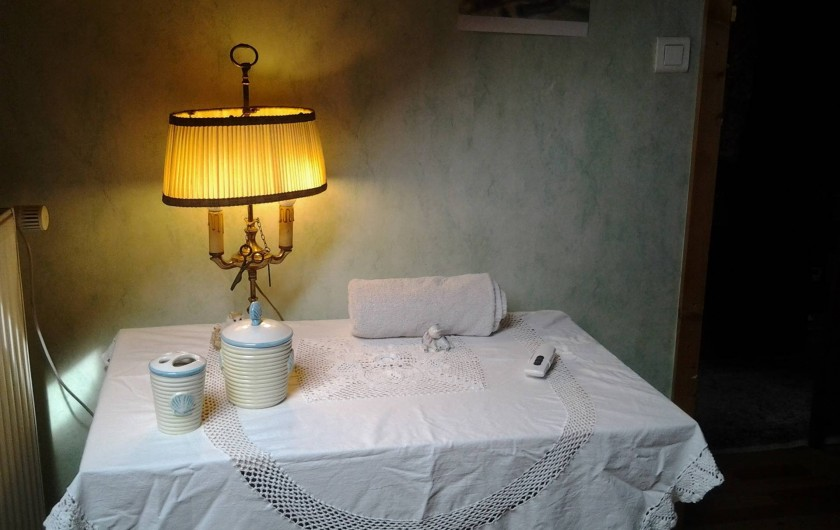 Location de vacances - Chambre d'hôtes à Fresse - Nécessaire de toilette Chambre  n°2