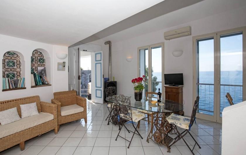 Location de vacances - Villa à Furore - Terrasse