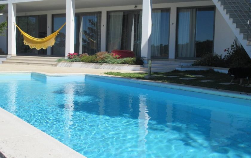 Location de vacances - Appartement à Bemposta - Façade Principale