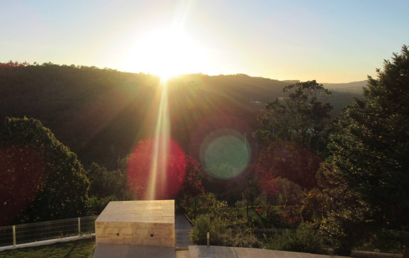 Location de vacances - Appartement à Bemposta - Coucher du soleil